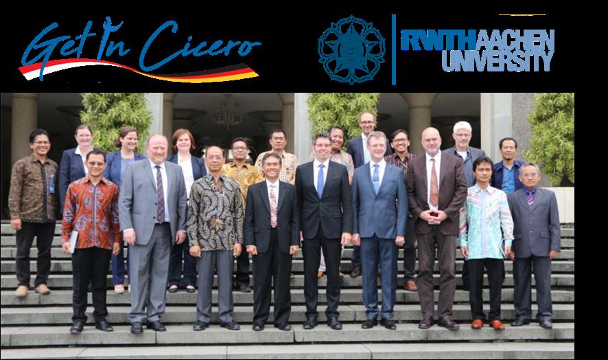 Gruppenfoto des Projektkonsortiums bei einem Treffen in Yogyakarta